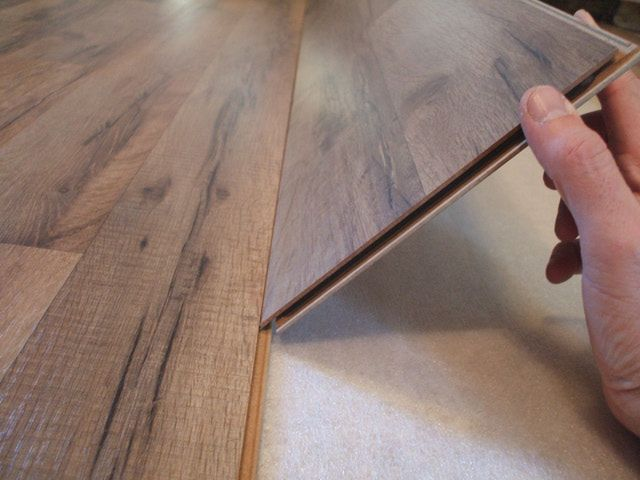 Laying laminate floor from Floors Direct Australia